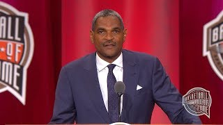 Maurice Cheeks' Basketball Hall of Fame Enshrinement Speech