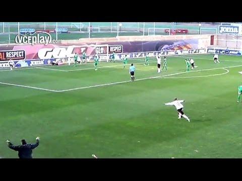 Valencia CF: Victoria del VCF Juvenil A ante el CD Castellón (2-1)