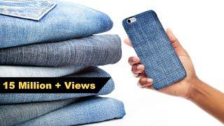 How To Make Mobile Cover  | DIY Mobile Case | Denim mobile cover | Crafts Junction
