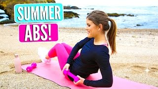 Amazing Summer ABS Workout! Best Exercise for A Toned Core!