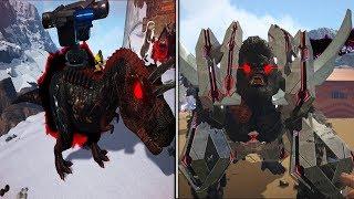 ARK : Ragnarok Survival #45: Siêu Thú Mới KingKong và T-Rex Đại Bác