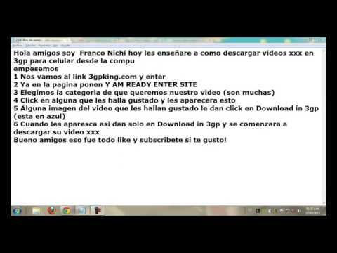 Xxx Mp4 Como Descargar Videos Porno En 3gp 3gp Sex