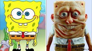 7 Personajes Animados En La Vida Real
