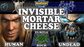 Grubby | Warcraft 3 TFT | 1.29 LIVE | HU v UD on Turtle Rock - Invisible Mortar Cheese