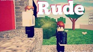 Rude Roblox Music Video w/ Fans