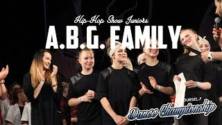 BE Y.OURSEL.F DANCE CHAMPIONSHIP ||A.B.G FAMILY || JUNIORS