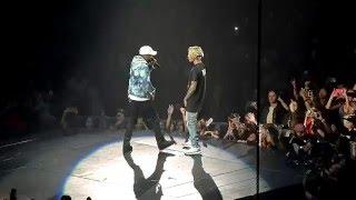 Justin Bieber Purpose Tour No Pressure feat Big Sean Los Angeles 3/20/16