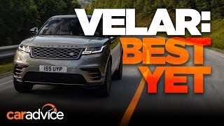 Range Rover Velar review   First look!
