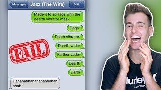 Most Hilarious Autocorrect Text Fails