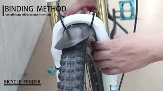 NICEDACK MTB Mudguard * Review * How to install