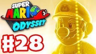 Super Mario Odyssey - Gameplay Walkthrough Part 28 - Ruined Kingdom 100%! Amiibos! (Nintendo Switch)