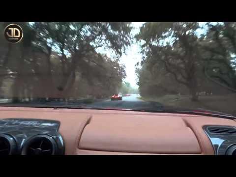 Bugatti Veyron vs Ferrari F430 JDC Yarış