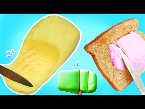 4 Ways to Make Butter Slime! DIY EASY Butter Slime Methods