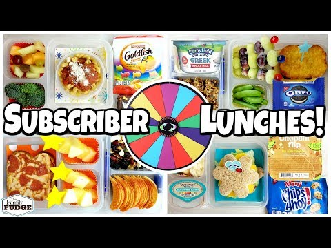 Mystery Wheel Chooses Subscriber Lunches 🍎