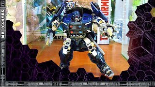 Transformers The Last Knight Deluxe Class BARRICADE CUSTOM