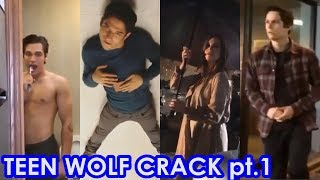 Teen Wolf Season 6A/B | Crack pt.1 | Best Epic Funny Moments | Tyler Posey, Dylan O