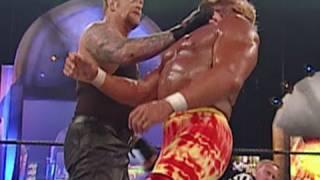 The Undertaker defeats Hulk Hogan to win the Undisputed