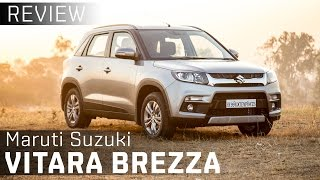 Maruti Suzuki Vitara Brezza | First Drive Review Video | ZigWheels India