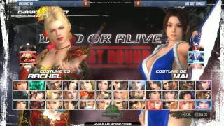 Dead or Alive 5 Last Round: GUTS 4 Tournament - Grand Final - cR SonicFox vs UGS BBoy Dragon