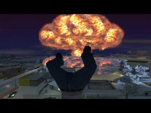 Gta San Andreas nuclear explosion