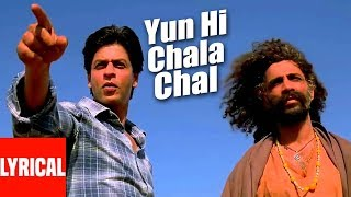 Yun Hi Chala Chal Lyrical Video | Swades | A.R. Rahman | Shahrukh Khan