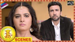 Size Zero Telugu Movie Scenes | Anushka scolds Kireeti Damaraju | Arya | Telugu Filmnagar