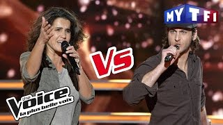 Marianne Aya Omac VS Romain - « Un Homme debout » (Claudio Capéo) | The Voice France 2017 |...