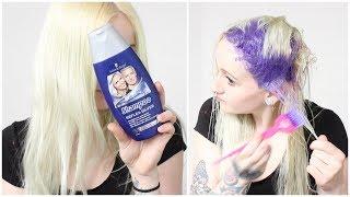 Purple Shampoo Results | Schwarzkopf Reflex Silver