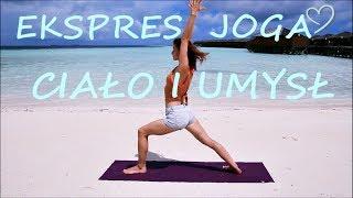 Mocne Ciało i Spokojny Umysł w 15 minut ♥ Joga z Gosią na Malediwach