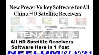 Sony Network New Software all HD Satellite Receivers Here in 1 Post.