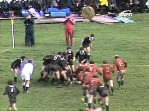 All Blacks vs British & Irish Lions 1977 3rd Test