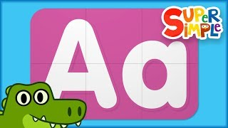Learn Letter A | Turn And Learn ABCs | Super Simple ABCs