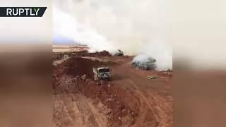 الجيش التركي يقصف عفرين بالصواريخ