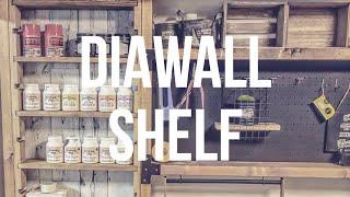 ディアウォールで作る壁面収納棚/How to make a wallshelf