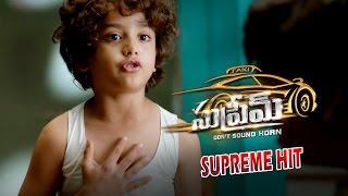 Supreme | Zing Zing Amazing Kid Trailer 2 | Sai Dharam Tej, Raashi Khanna