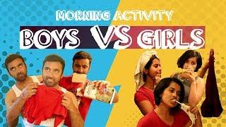 Morning Activity | Boys VS Girls | Veyilon Entertainment