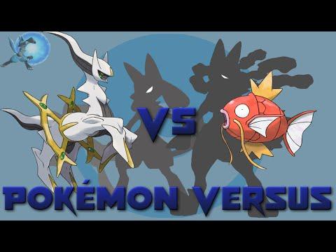 Arceus VS Magikarp   Pokémon Versus