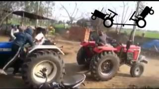 NEWHOLLAND 3630 SPECIAL EDITION VS MASSEY 9500 TRACTOR TOCHEN