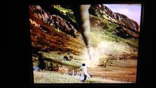 Tall Tale (1995) ending - Pecos Bill rides up in a Twister tornado!