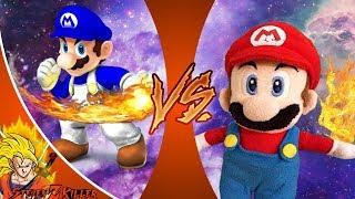 SMG4 vs SML MARIO (SMG4 vs SuperMarioLogan _ War Of The Fat Italians v SML Movie) CFC REACTION!!!