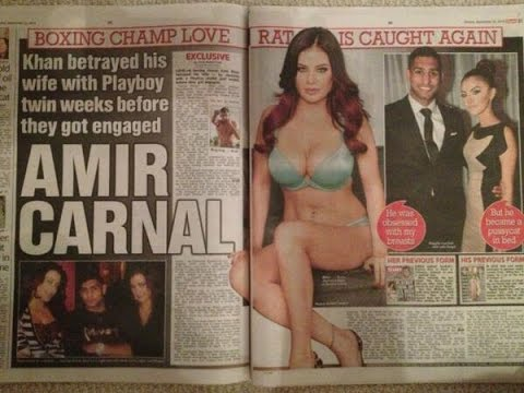 Amir Khan 'sex tape is leaked to major porn site'
