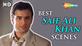 Best of Saif Ali Khan scenes from Love Ke Liye Kuch Bhi Karega  - Sonali Bendre - Comedy Movie