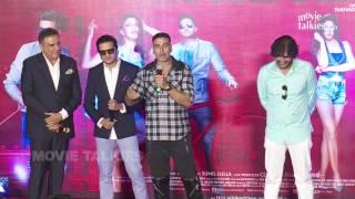Housefull 3 Trailer Launch Event - Akshay Kumar, Riteish Deshmukh, Abhishek Bachchan