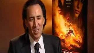 Nicolas Cage - Ghost Rider interview with stv.tv/movies