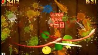Fruit Ninja 10,000+ score (cheat + Download Link)