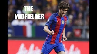 When Sergi Roberto plays as midfielder.. MAGNIFICENT !