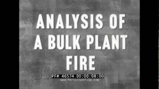 1960 KANSAS CITY BULK PLANT FIRE DISASTER  PETROLEUM REFINERY ACCIDENT 46574