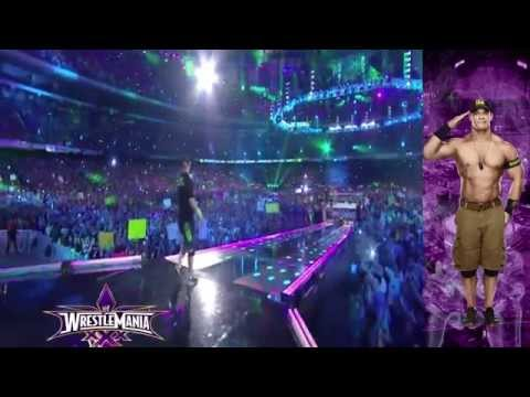 John Cena Wrestlemania xxx Entrance