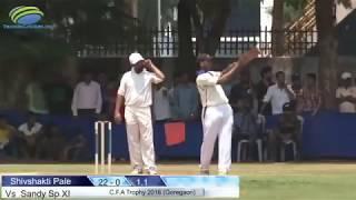 Sandy SP XI  VS Shivshakti Pale   CFA Trophy 2016   Prabhodhan Ground   Goregaon - Mumbai
