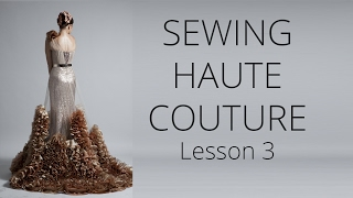 Premium Dress | How to sew Haute Couture Fashion Dress DIY #3